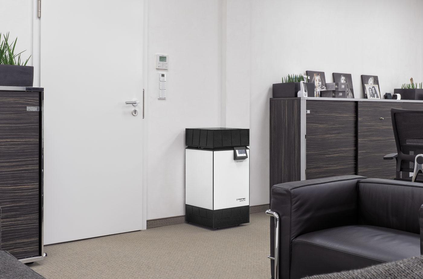 AirgoClean One - профессиональная фильтрация вирусов для офисов, медицинских учреждений, юридических фирм и жилых помещений