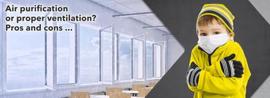 Проветривание или очистка воздуха?  Все, что вам нужно знать, на нашей информационной странице ...