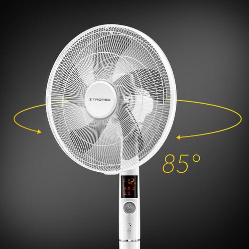 Tự động dao động 85 ° với chức năng tắt mở