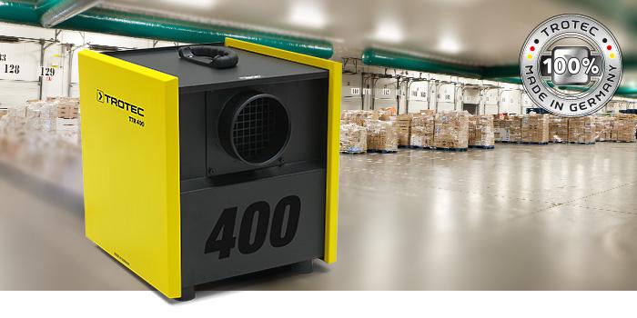 Desiccant dehumidifier Trotec TTR 400 D - TROTEC