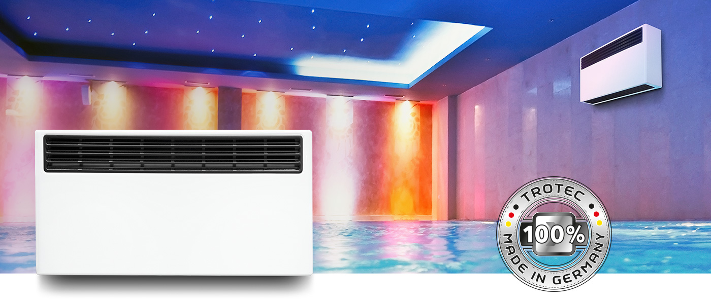 Pool dehumidifier DS 60 - TROTEC