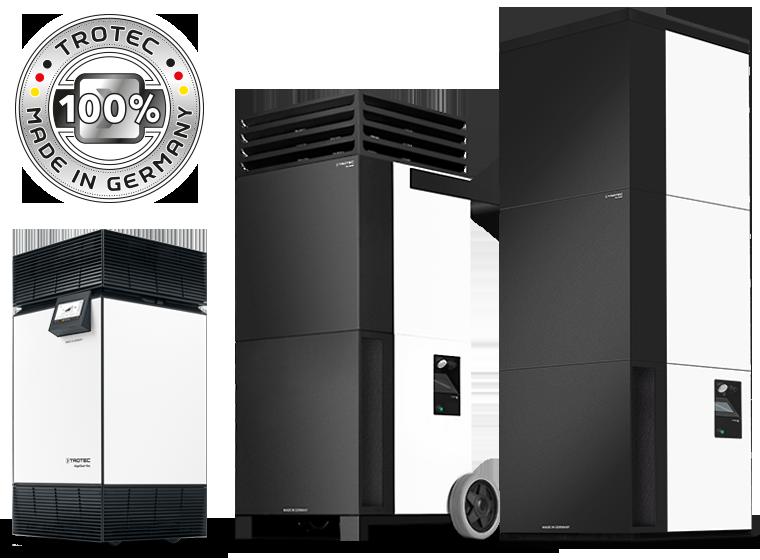 Высокопроизводительный очиститель воздуха от Trotec - переходите к серии TAC для эффективной и комплексной защиты здоровья