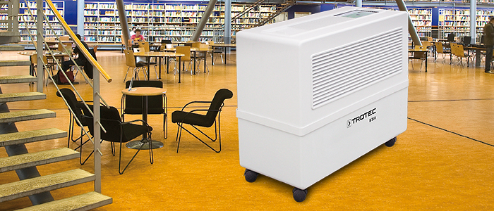 Evaporation humidifiers | humidifiers TROTEC