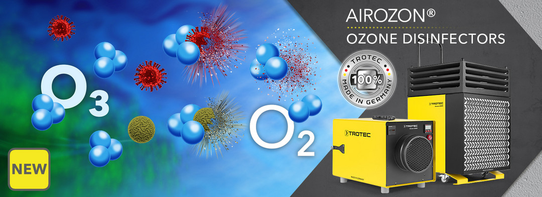Powerful ozone generators for large-scale interior disinfection-Trotec