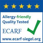 AirgoClean® One сертифицирован ECARF для аллергиков.