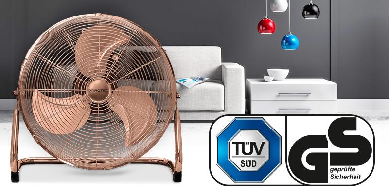 TVM 17 поставляется с качеством, проверенным TÜV.