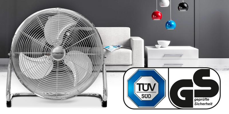 TVM 18 поставляется с качеством, проверенным TÜV.
