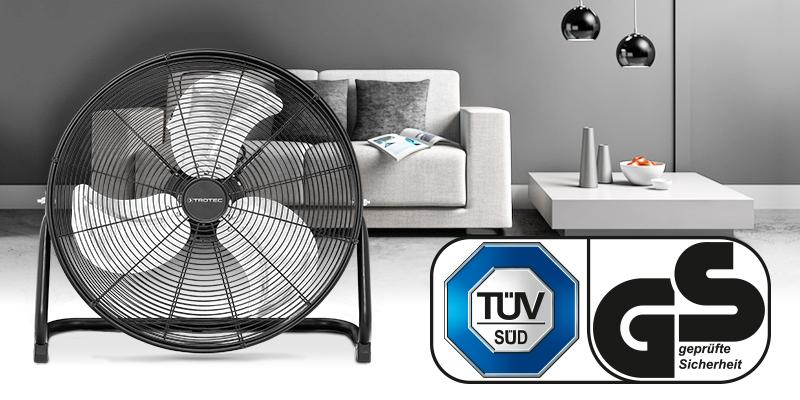 TVM 20 D поставляется с качеством, проверенным TÜV.