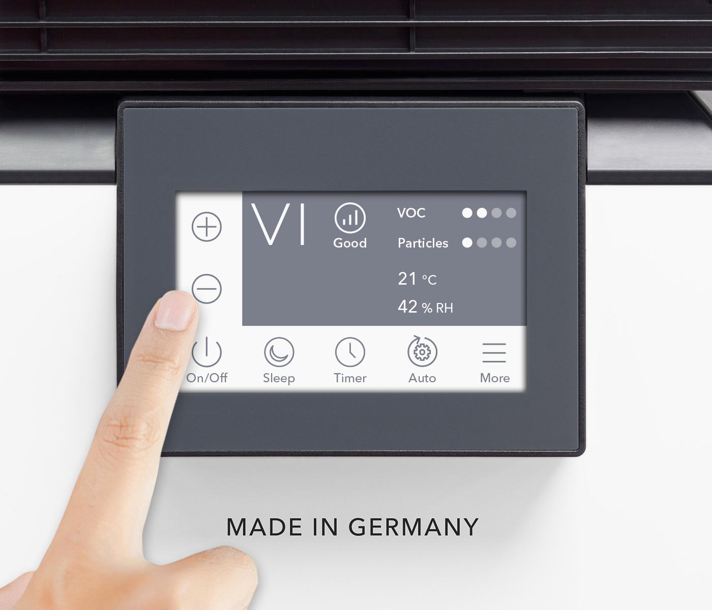 «Touch & Play» - простая настройка с помощью сенсорного дисплея