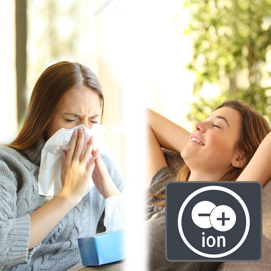 Ультразвуковой увлажнитель воздуха B 5 E - Ионизатор для здоровья